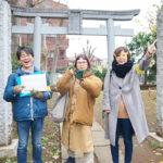ミュージシャン・原田郁子さんと歩く 桃園川暗渠と銭湯