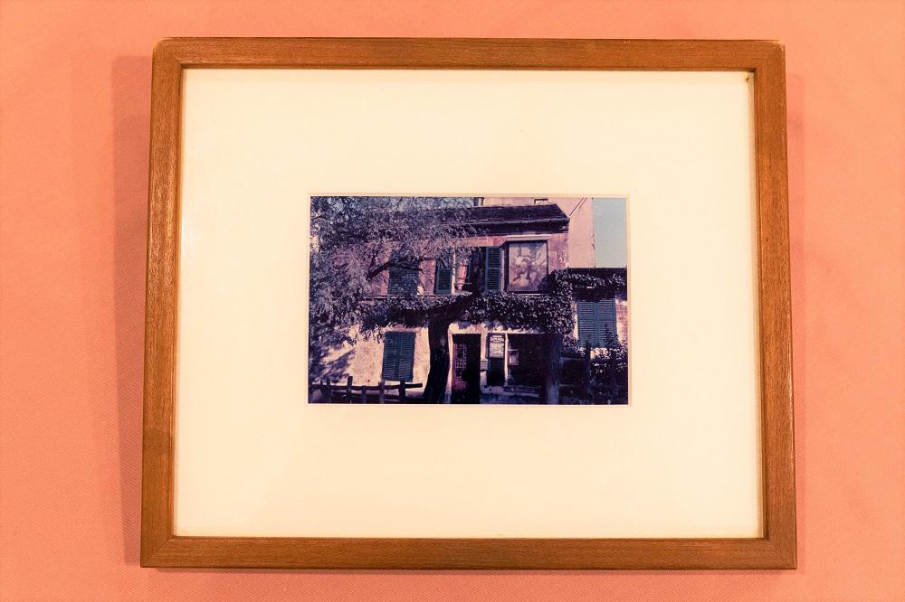 松本清張さんがパリで撮影し、プレゼントされた写真