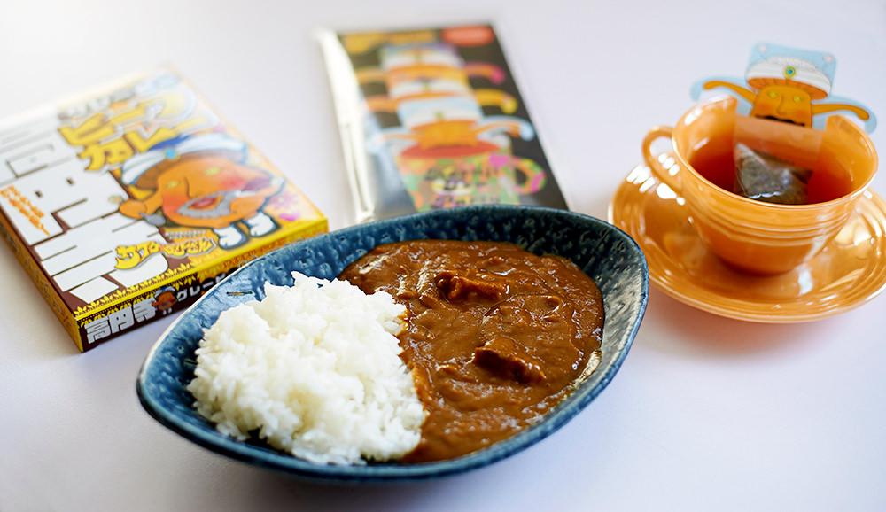 これもインドっぽい!? サイケ・デリーさんプロデュースの高円寺ご当地カレーと今年誕生したバラエティ紅茶も絶賛発売中です。
