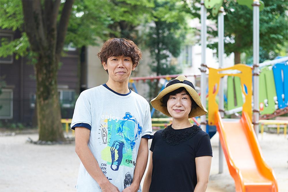 角貝さん(左)と原田さん