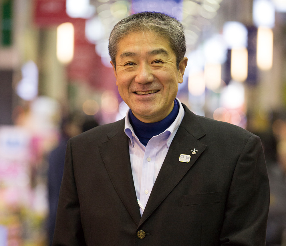 高円寺演芸まつり実行委員長 城石豊さん