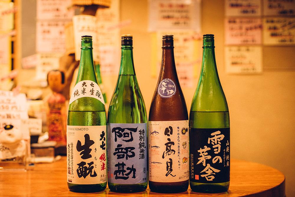 みちのく6県の旨い銘酒と料理の店、がこちらのお店のキャッチコピー。東北の銘酒が揃います。
