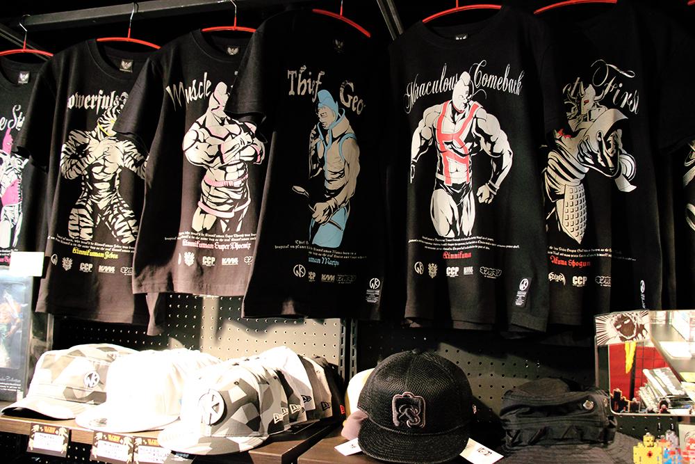 様々なキャラクターのオリジナルTシャツ