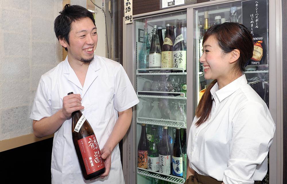 主人の日本酒へのこだわりは、その語り口を聞けば直ぐに伝わります。