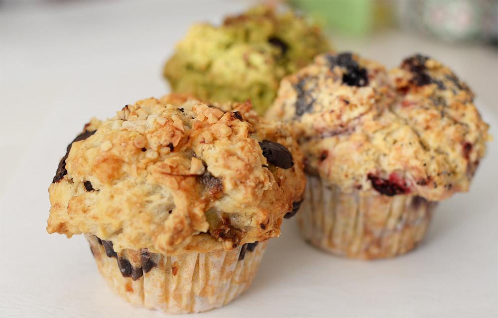 西荻窪Go muffins goのヴィーガンマフィン