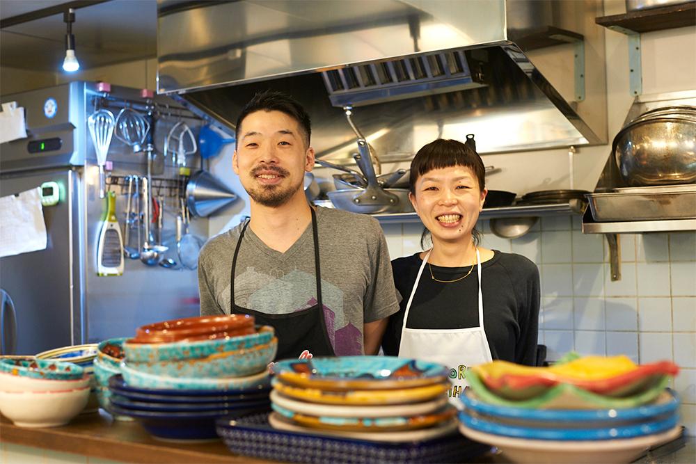 左から、齊藤純さん、夏子さん。